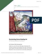Decolonising Science Reading List – Medium