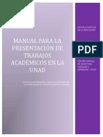 d. Doc Manual Presentación Trabajos Académicos -Unad