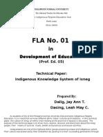 Indigenous Knowledge system of Isneg