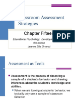 Classroom Assessment Strategies