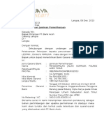 Surat Permohonan Jaminan Pemeliharaan Cv.idi Jaya Lestari
