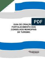 Guia Do Governo Do Estado Sobre Conselhos Municipais de Turismo
