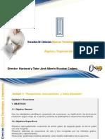 Algebra Trigonometria y Geometria Analitica Unidad 1