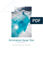 Birmingham Barge Trips