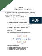 Bahan Ajar Nilai Perbandingan Trigonometri Di Berbagai Kuadran