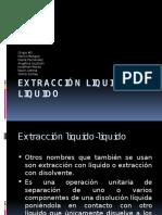extraccion liquido liquido