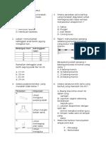 Paper 1 Ujian 1 Sains Tahun 4