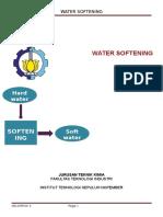 Makalah Water Softening