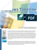 Windows TimeLine by Conocimiento Adictivo Blog