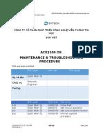 ACX OS Maintenance&Troubleshoot - Vi