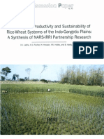 Improving the Productivity and Sustainability of Rice-Wheat Systems of the Indo-Gangetic Plains