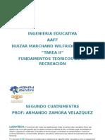 Tarea 2 Fundamentos t Recreaci w Huizar