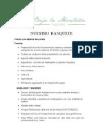 Banquete Bajo La Montaña (1)