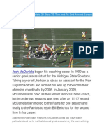 Patriots' Josh McDaniels' 21 Blast TE Trap and PA End-Around Screen