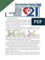 Articol Sdr Down