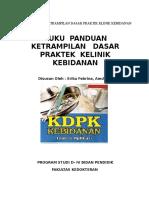 Buku Panduan Ketrampilan Dasar Praktik Klinik Kebidanan