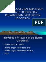 Obat2 Pd Infeksi Dan Peradangan Pd Sistem Urogenital