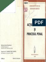 Acţiunea Civilă Şi Procesul Penal - C.furtună,Gh.brenciu - 1998