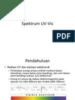 Spektrum UV Vis Revised