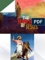 1st lent- temptation of jesus