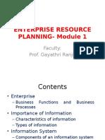 ERP Module 1