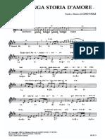 Spartiti - Gino Paoli - Una Lunga Storia D'amore.pdf