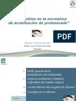 RvG_ Nueva Acreditacion Profesorado_ UV 150112