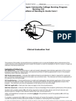 final nursing 112 evaluation tool