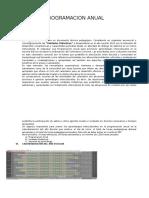 Programacion Anual Huallmish 2016