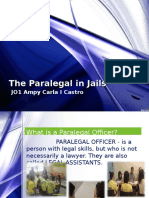 The Paralegal in Jails