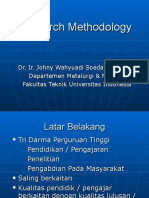 Kuliah Research Methodology 1