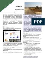 Plaquette Geotechnique Routière. Ecole Des Mines de DOUAI