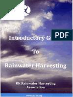 Guide to Rainwater Harvesting (UKRHA)