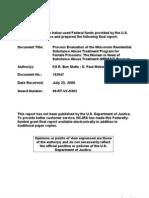 Wisconsin Residential Substance Abuse Treatment Program for Female Prisoners
