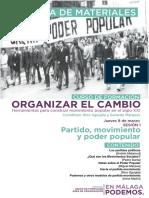 Carpeta de Materiales - Curso OrganizarElCambio Sesion1