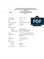 Biodata Praktikum Limbah