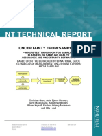 Uncertainty From Sampling - NORDTEST Report - TR604