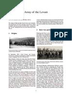 l'Armée Du Levant