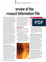 Overview of Product Information File PersonalCareMag Sep14