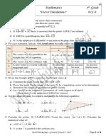 w s-9  vectors and vector coordinates