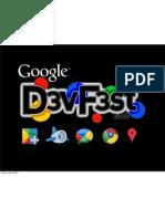 DevFest Singapore - The Google Buzz API and You