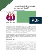 Inhibitorii de Pompă de Protoni Studiu