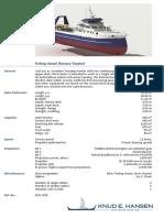 Fishing Vessel Factory Trawler 1288