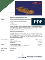 24 m Patrol Emergency Response Vessel 09047