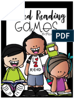 Guided Reading Games Freebie