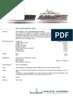 24 m Explorer Yachts 13144