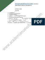Examen Matematicas CCSS UNED Mayores 25 Junio 2014 Solucion