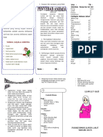 Leaflet Anemia Untuk Konseling