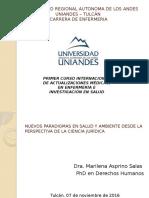 Presentación Curso Internacional Actualizaciones Medicas