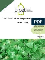Nono Censo Da Reciclagem Do PET No Brasil
